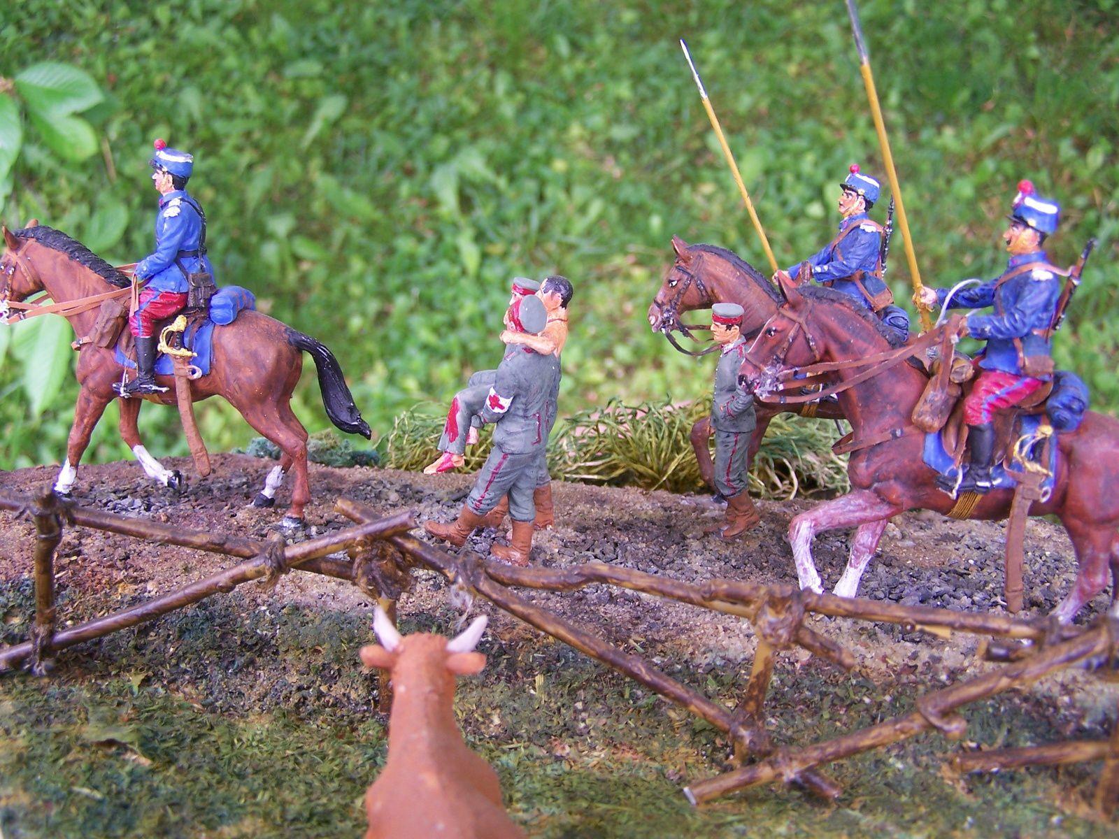 Presq'un rève pour des Chasseurs à cheval !!!! Diorama WW1 1914/1918