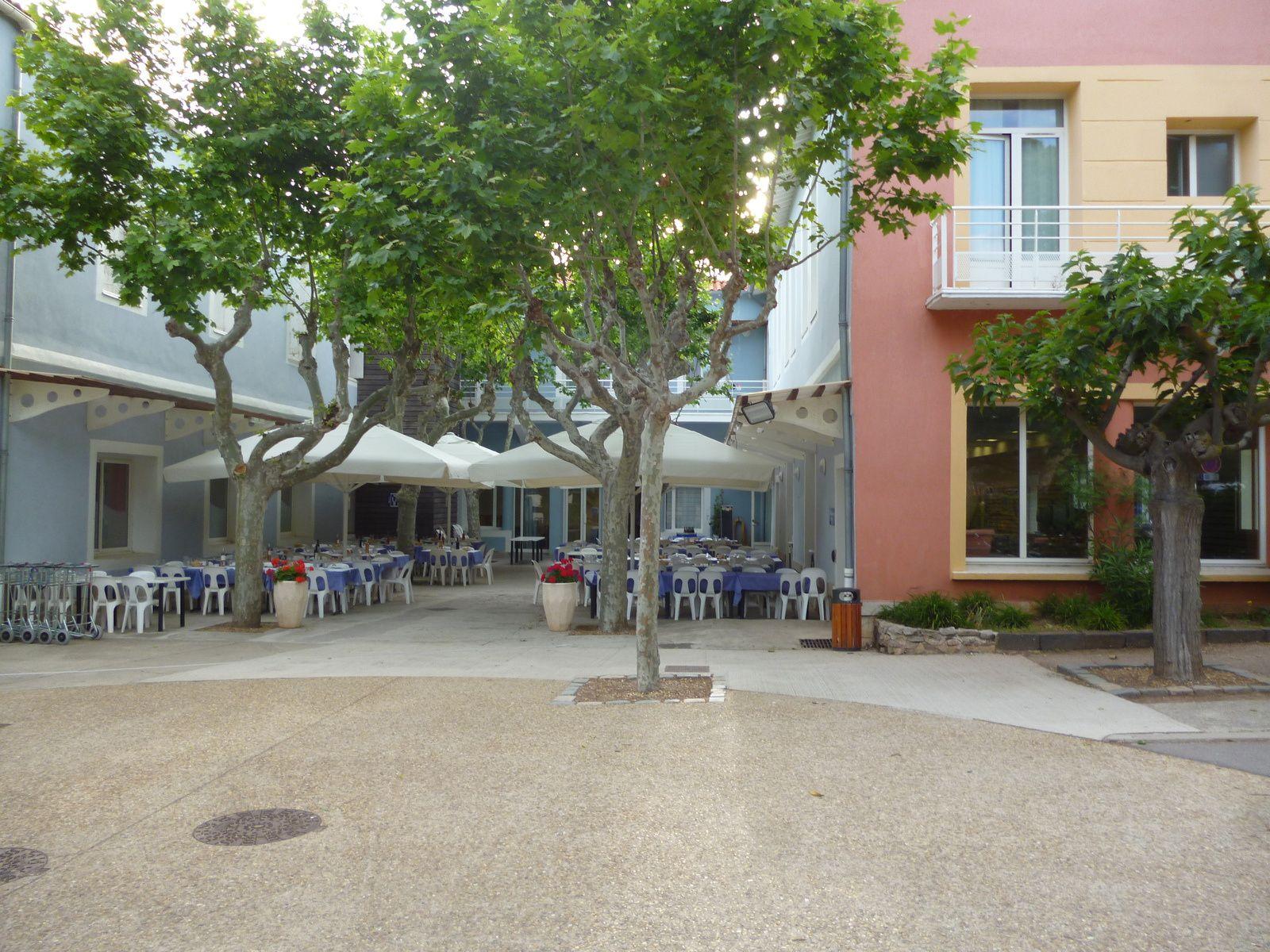 Le centre du Lazaret...