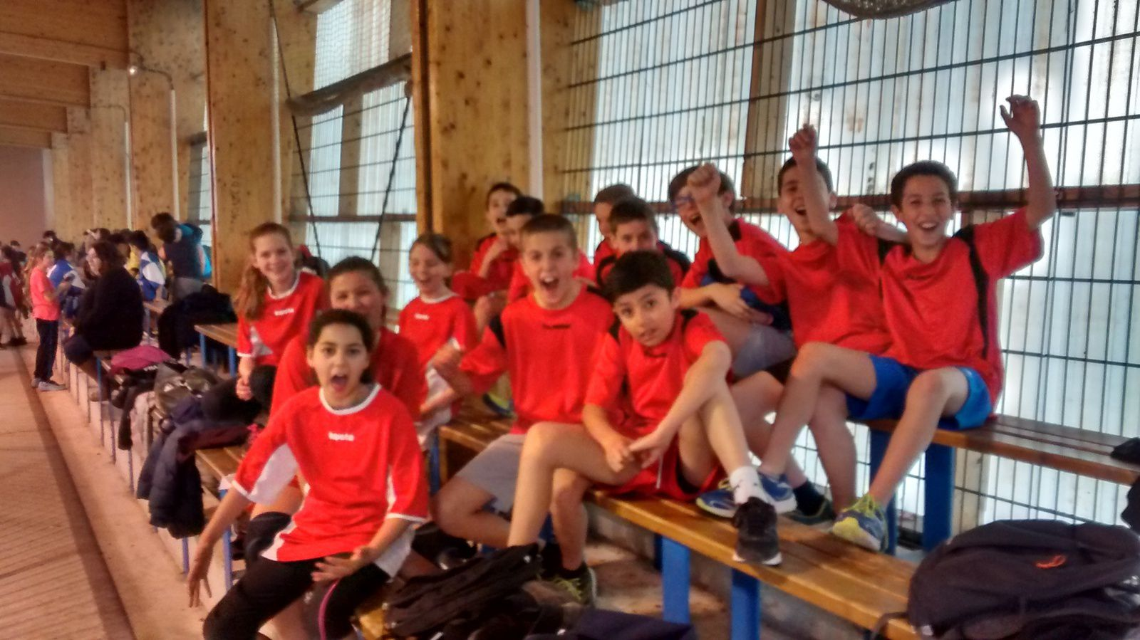 Les jeunes handballeurs en compétition à Monteux...