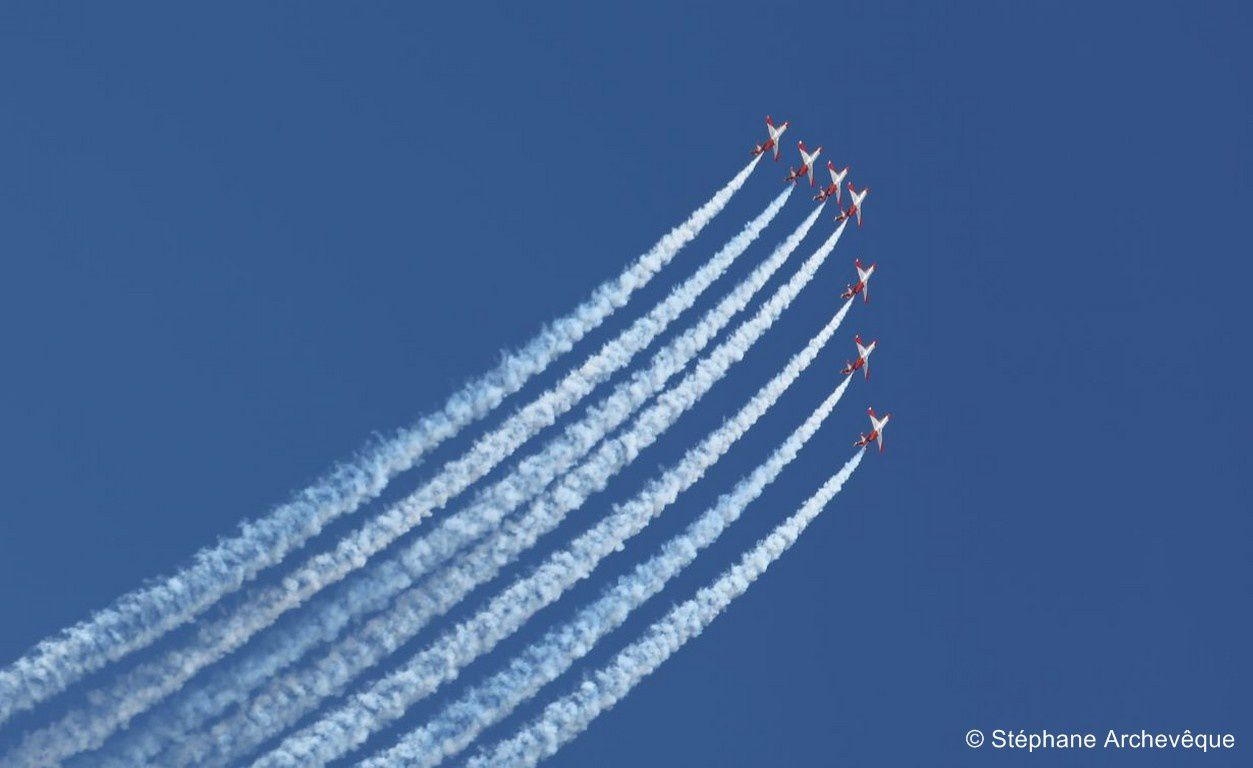 1.1 Patrouilles acrobatiques / Aerobatic Teams