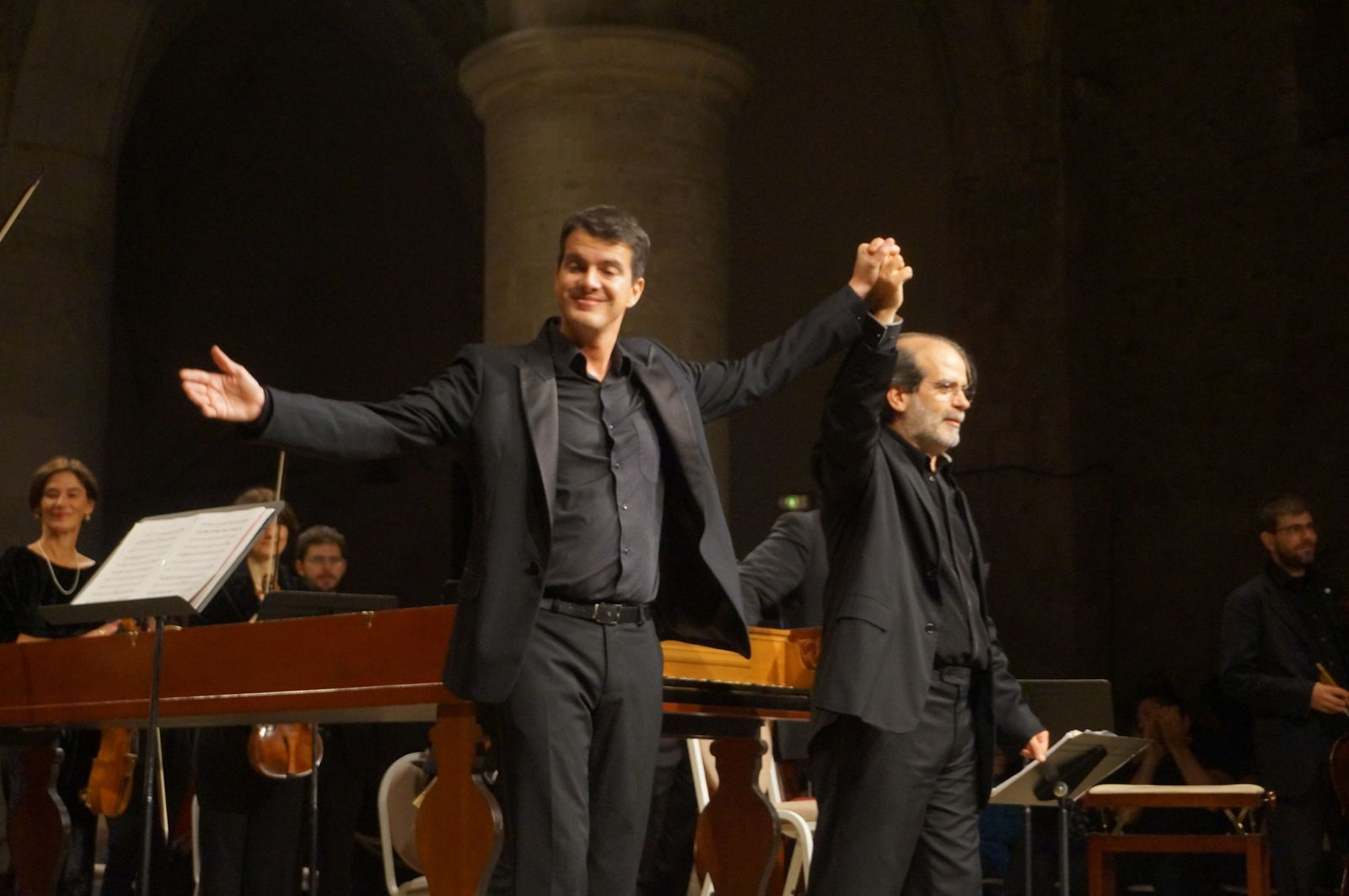 Philippe Jaroussky et Andrea Marcon à Ambronay