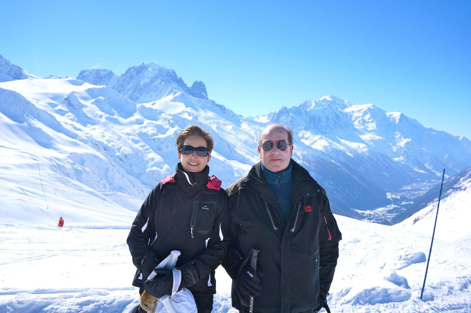 Journée de ski à Vallorcine