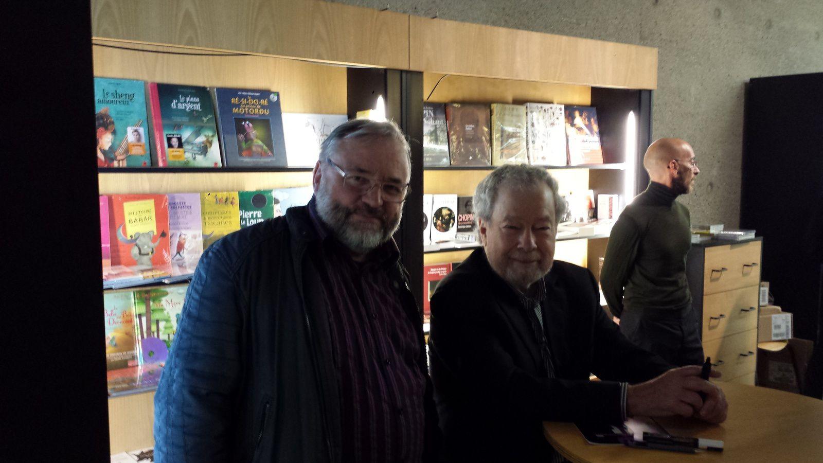 Avec Nelson Freire  à l'Auditorium de Lyon