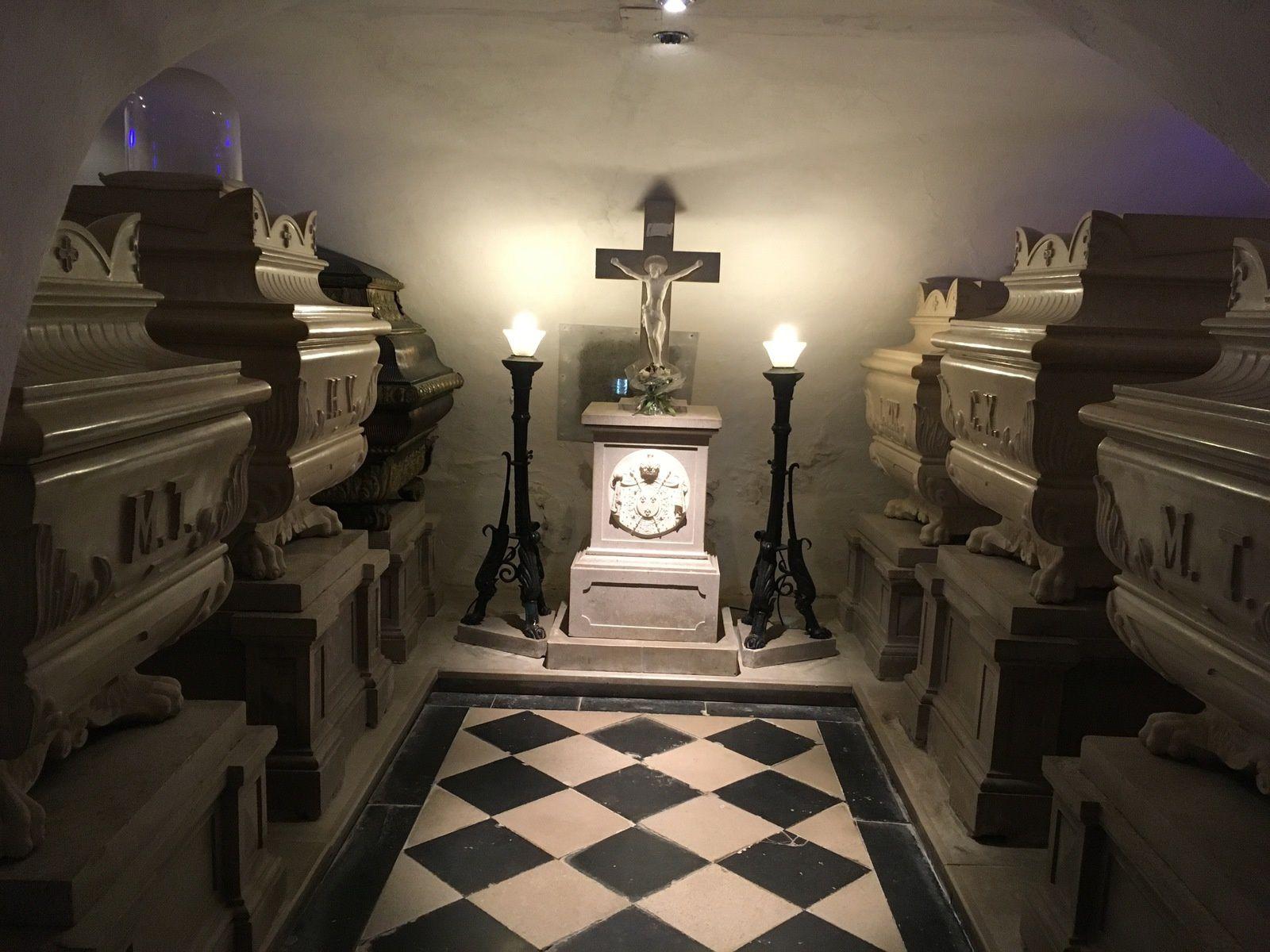 La Crypte des Bourbons (Nova Gorica en Slovénie)