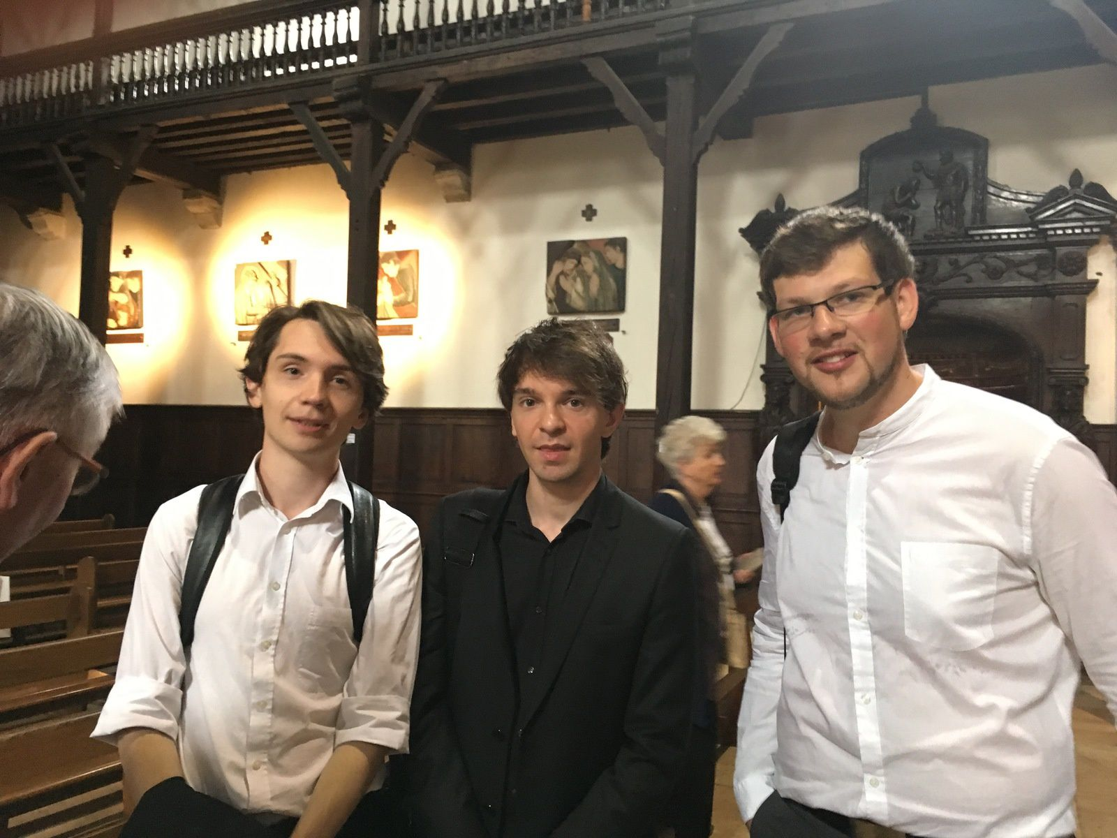D'excellents jeunes organistes du CNSM de Paris