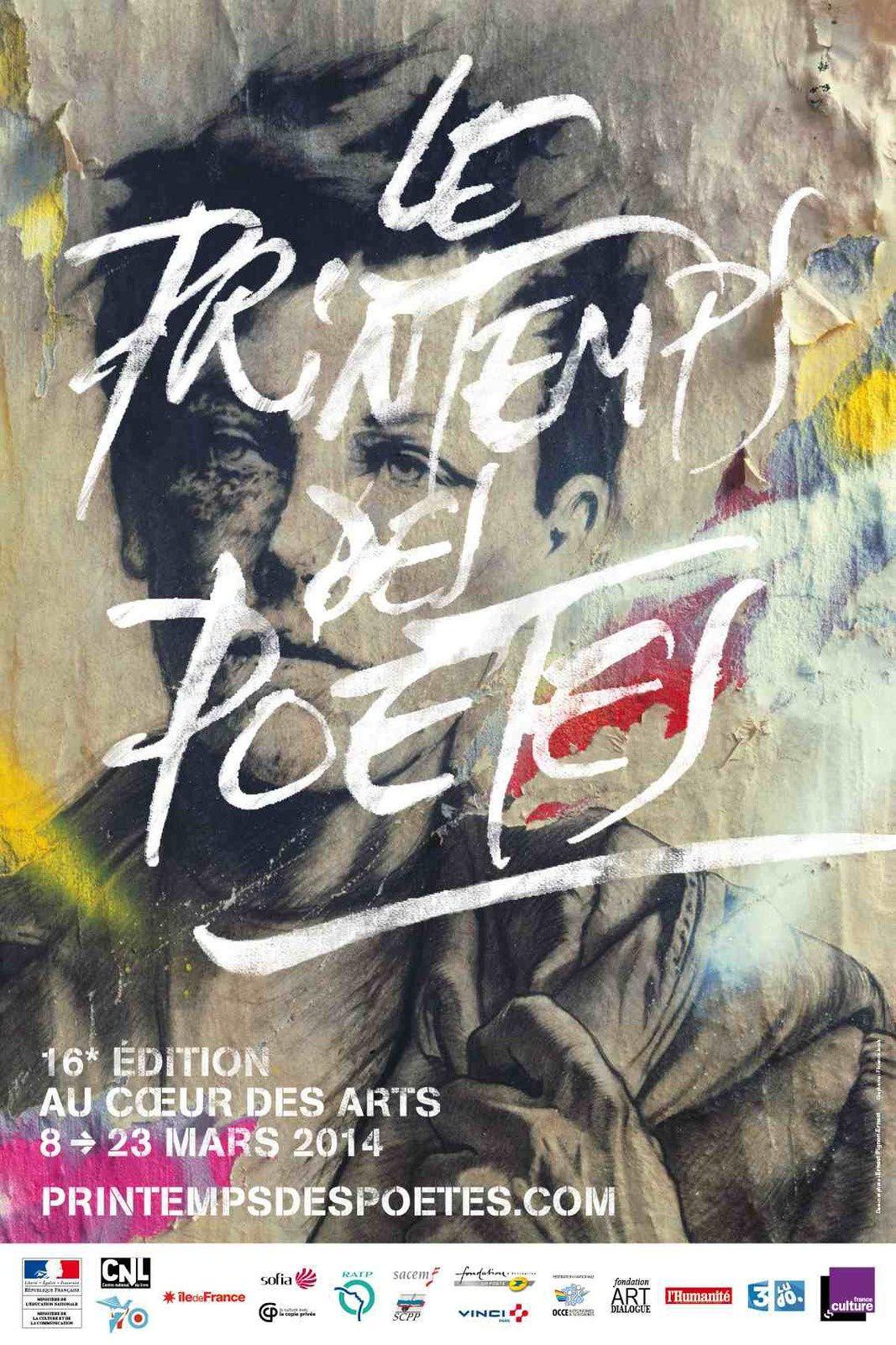 c'est le printemps des poètes !