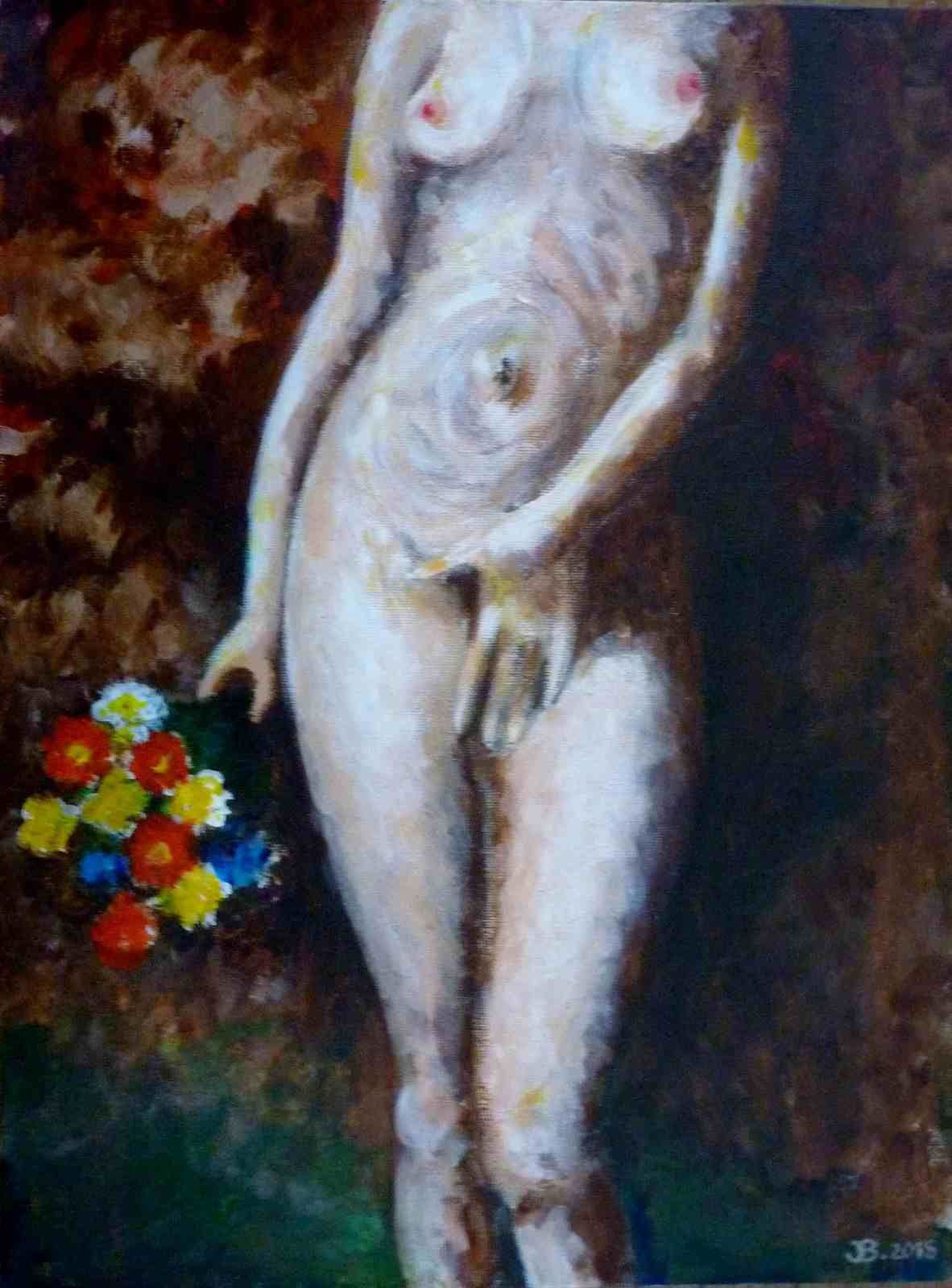 La fille à lèvres d'orange