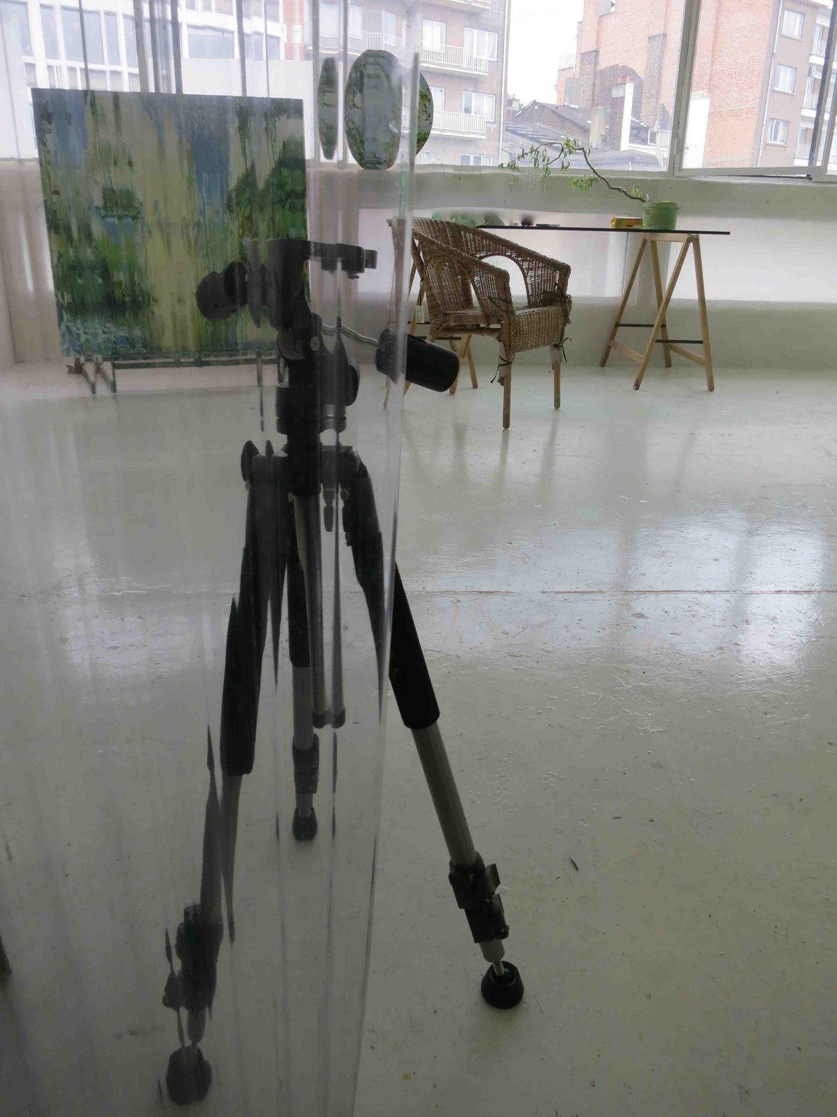 RELIANCES .L'atelier du peintre.