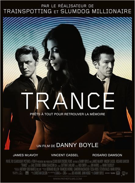 Trance : thriller excitant sous hypnose