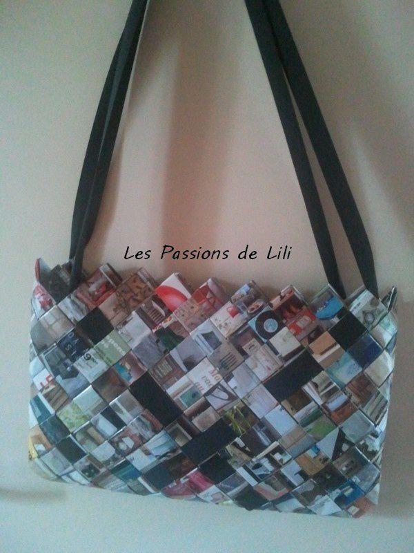 * recyclage * Mon sac magazine