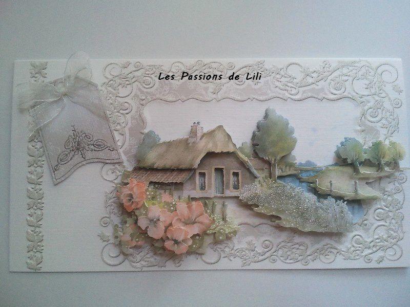 Carte 3D &quot&#x3B;maison&quot&#x3B; Staf Wesenbeek