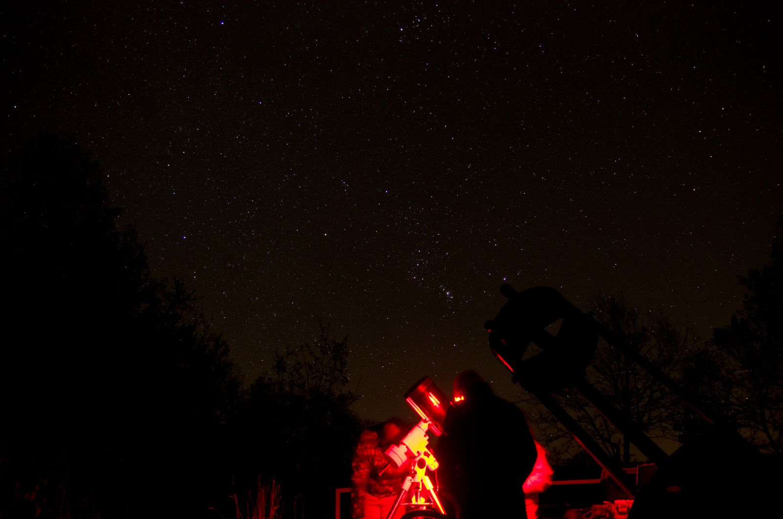 Photo d'ambiance prise le 02/12/2016 à l'observatoire de Gigouzac - Photo DV