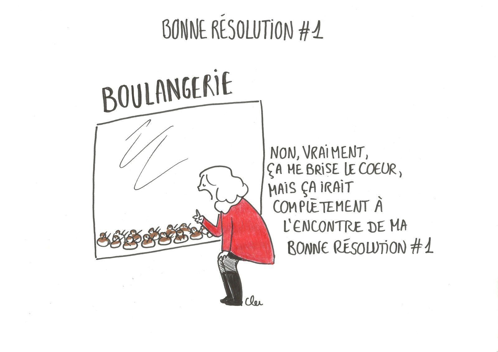 Bonne résolution numéro 1