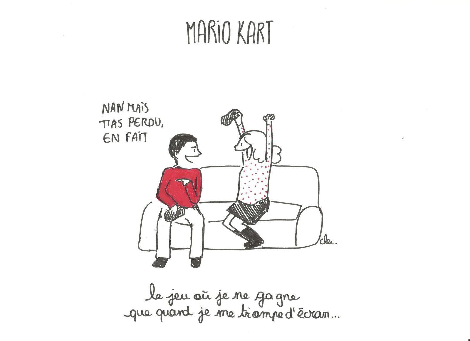 Nulle en Mario Kart