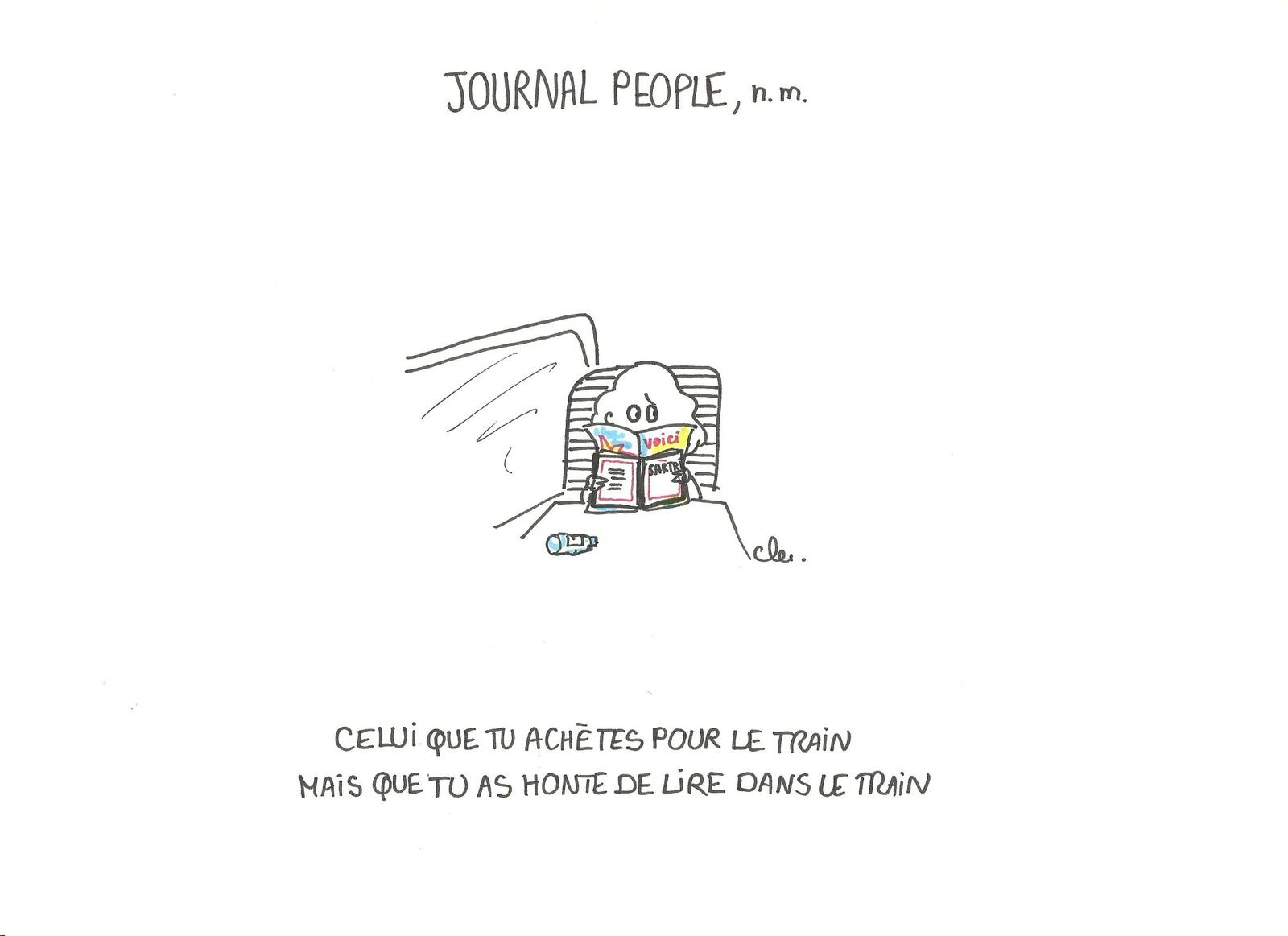 Le journal people