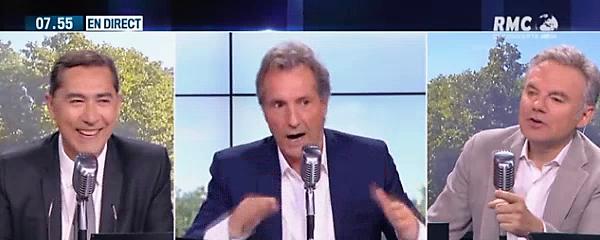 Laurent Neumann - Jean-Jacques Bourdin - Éric Brunet