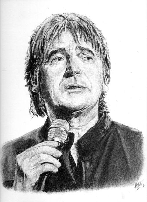 Portraits de chanteurs