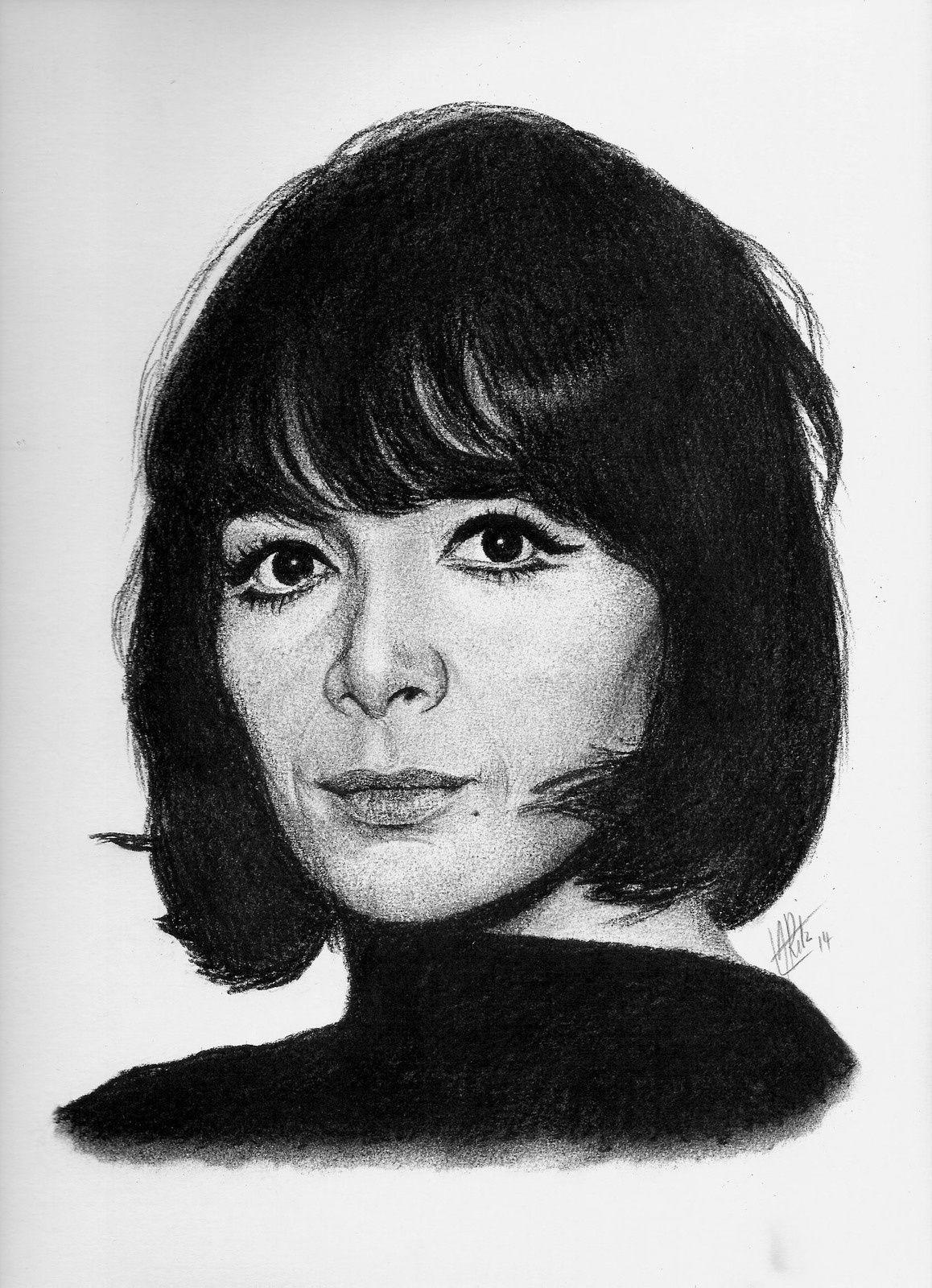 Portrait de Juliette Greco