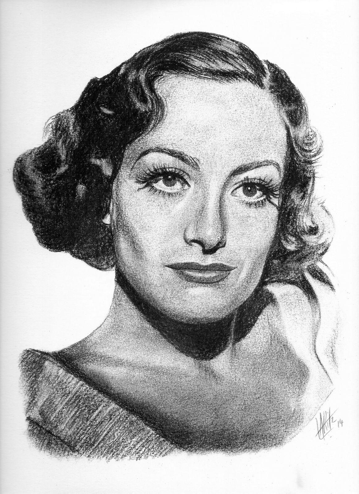 Portrait de Joan Crawford
