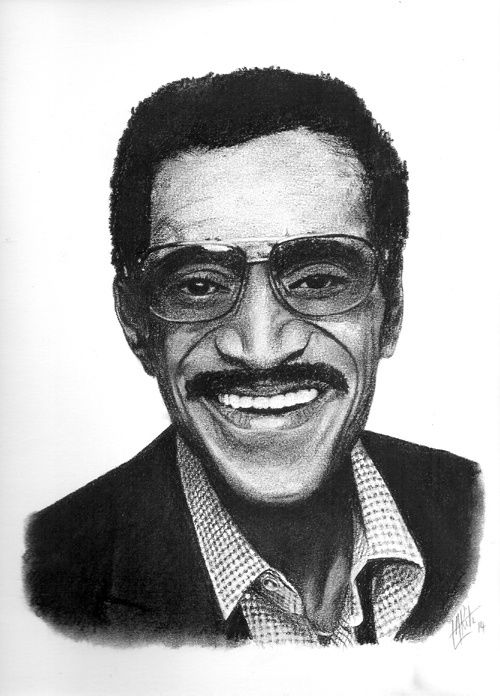 Portrait de Sammy Davis Jr