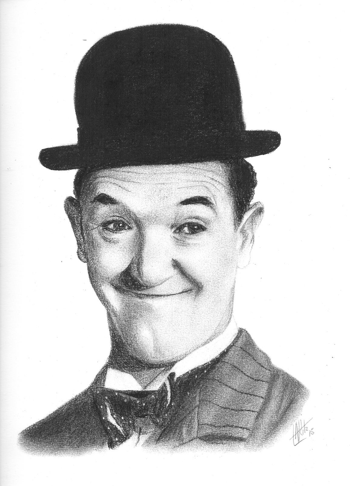 Portrait de Stan Laurel
