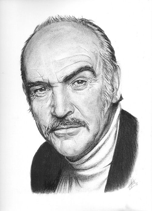 Portrait de Sean Connery