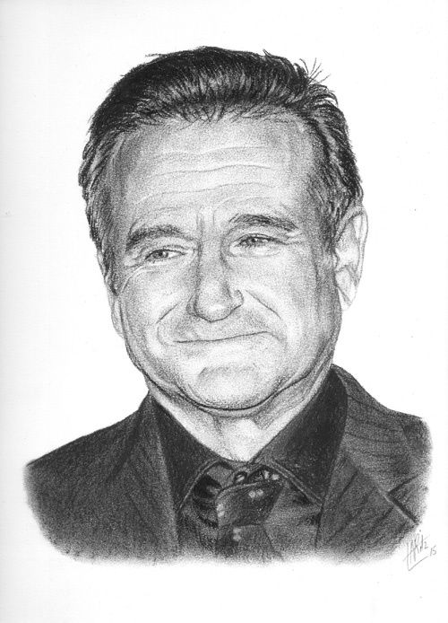 Portrait de Robin Williams