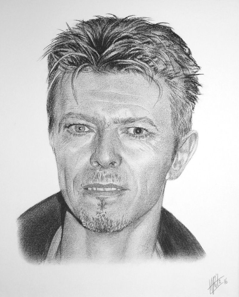 Portrait de David Bowie