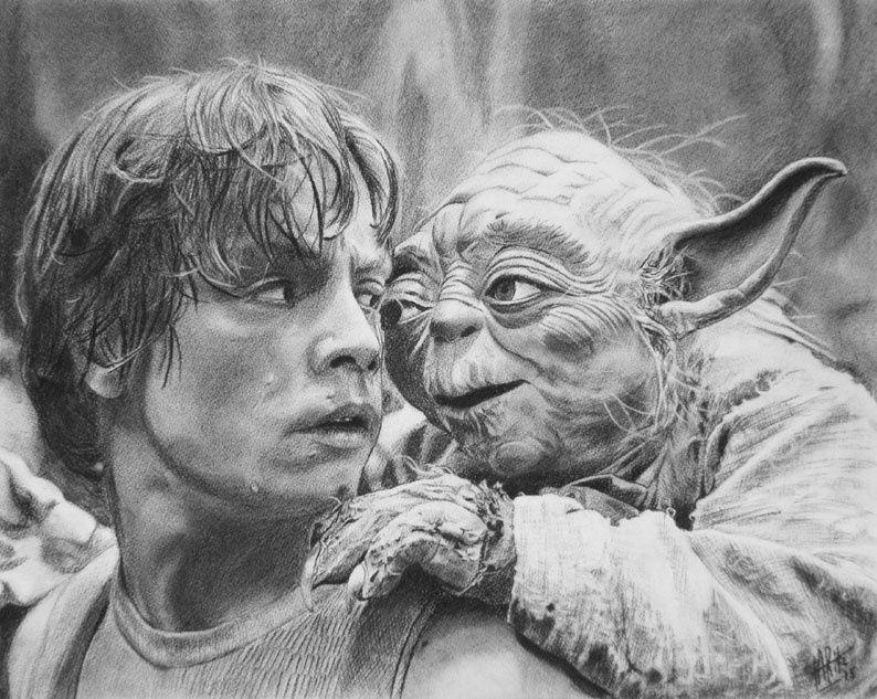 Scène du film Star Wars