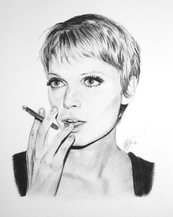 Portrait de Mia Farrow
