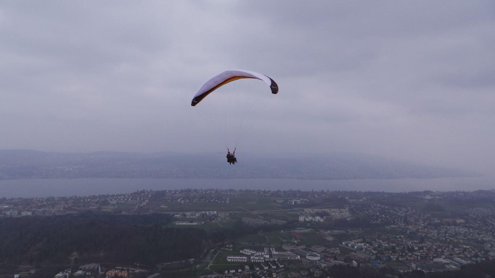 Belle petite vue de Zurich!