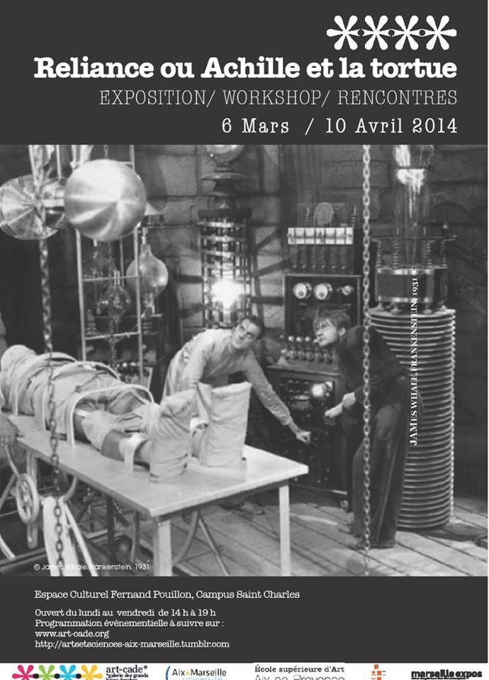 Reliance ou Achille et la tortue, Espace Pouillon, Université des sciences, Marseille.