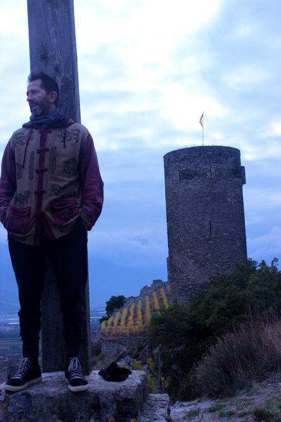 Petite grimpette au château