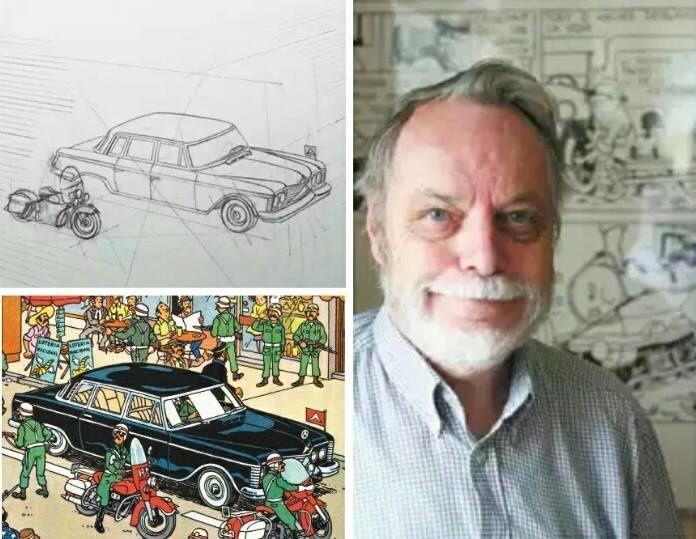 Décès de Michel Demarets - collaborateur d'Hergé