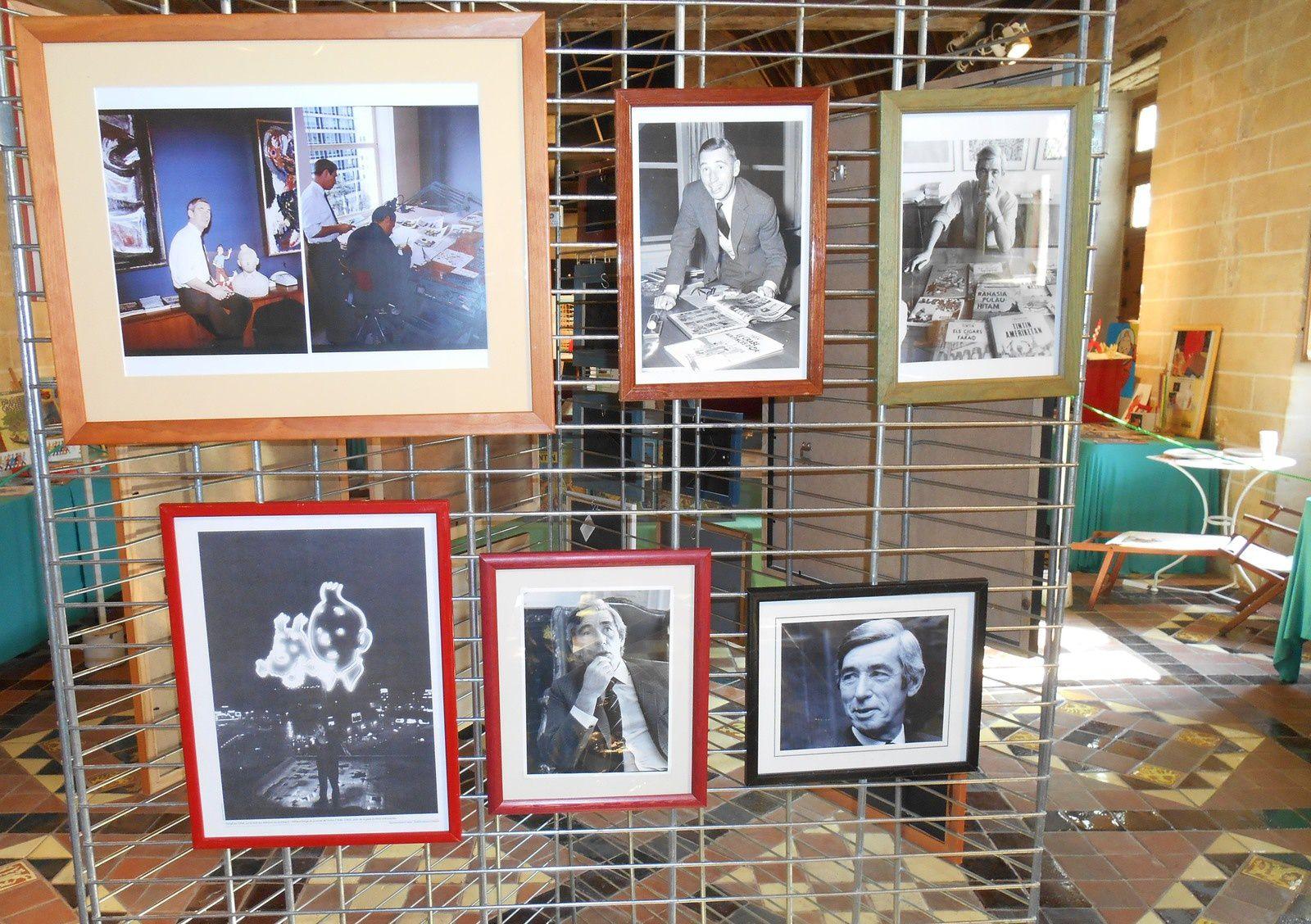 Veznez découvrir les photos des Journées Tintinophiles de Senlis 2015