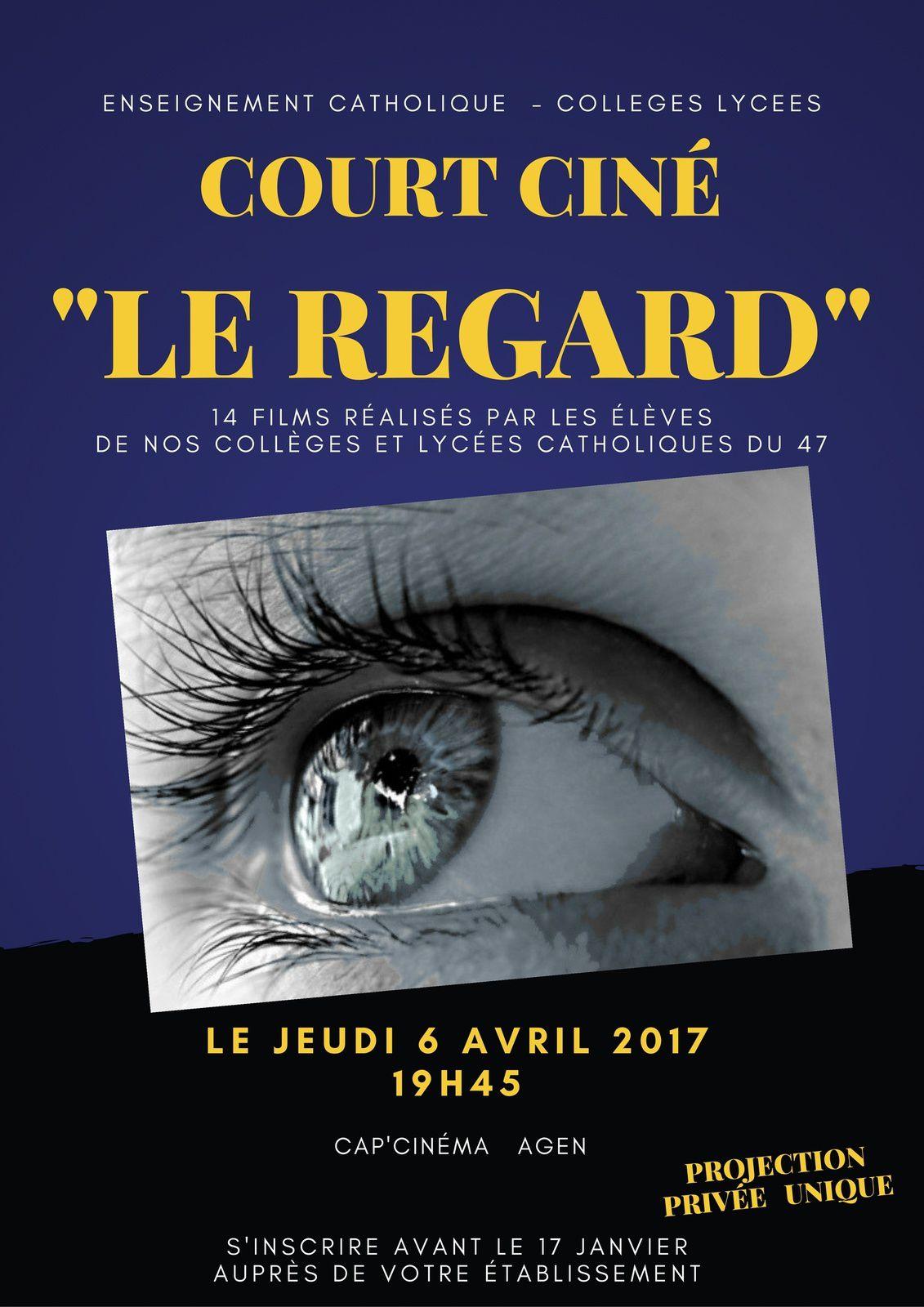 """Projet diocésain 2016-2017  """"le regard"""""""