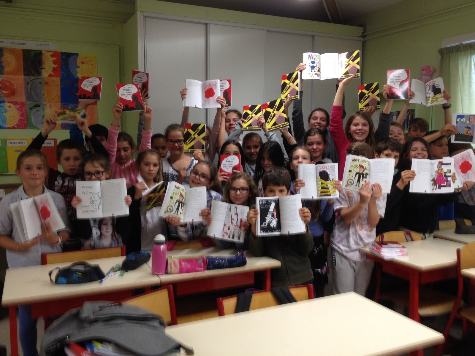 Classe de CM2 de Martine SAROT  Ecole Sainte Geneviève Aix en Provence