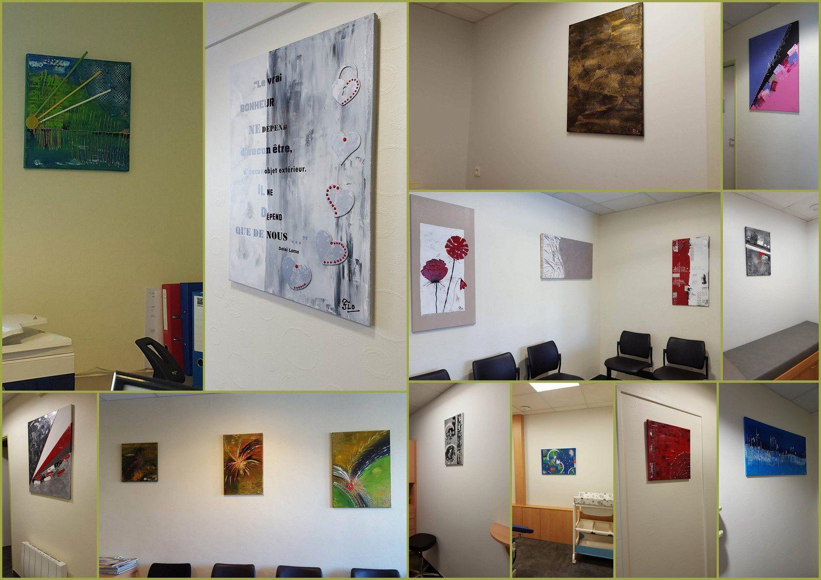 Exposition au laboratoire de la source à Valmont