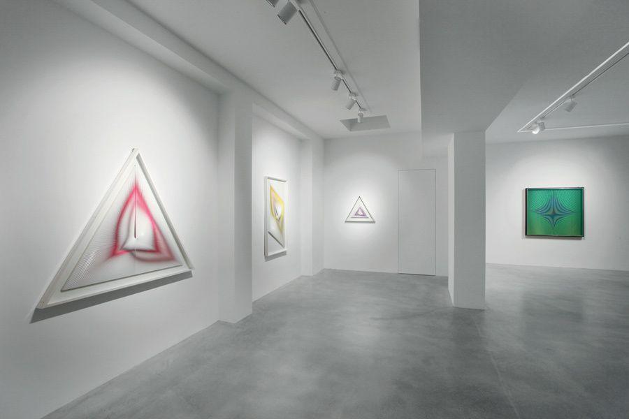 Alberto Biasi un protagonista mai domo alla Galleria Dep Art di Milano