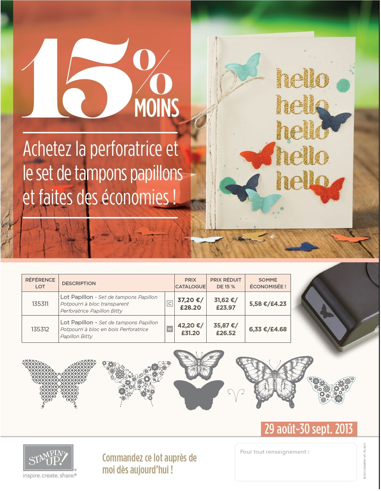 Nouvelle promotion et Best of