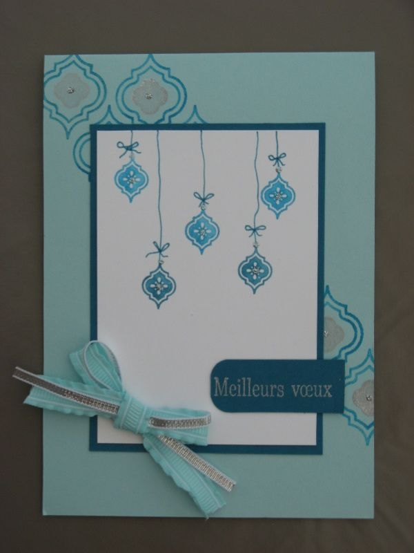 Blog hop des Stampin'Girls ! : un sketch de carte