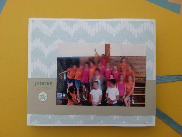 Atelier Mini album lundi 24 août 14h chez moi