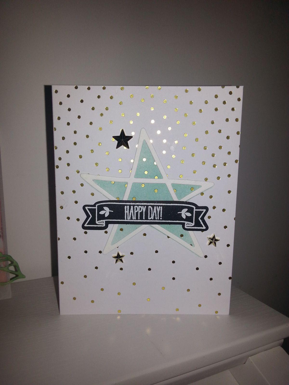 Des cartes pour les anniversaires de mes neveux