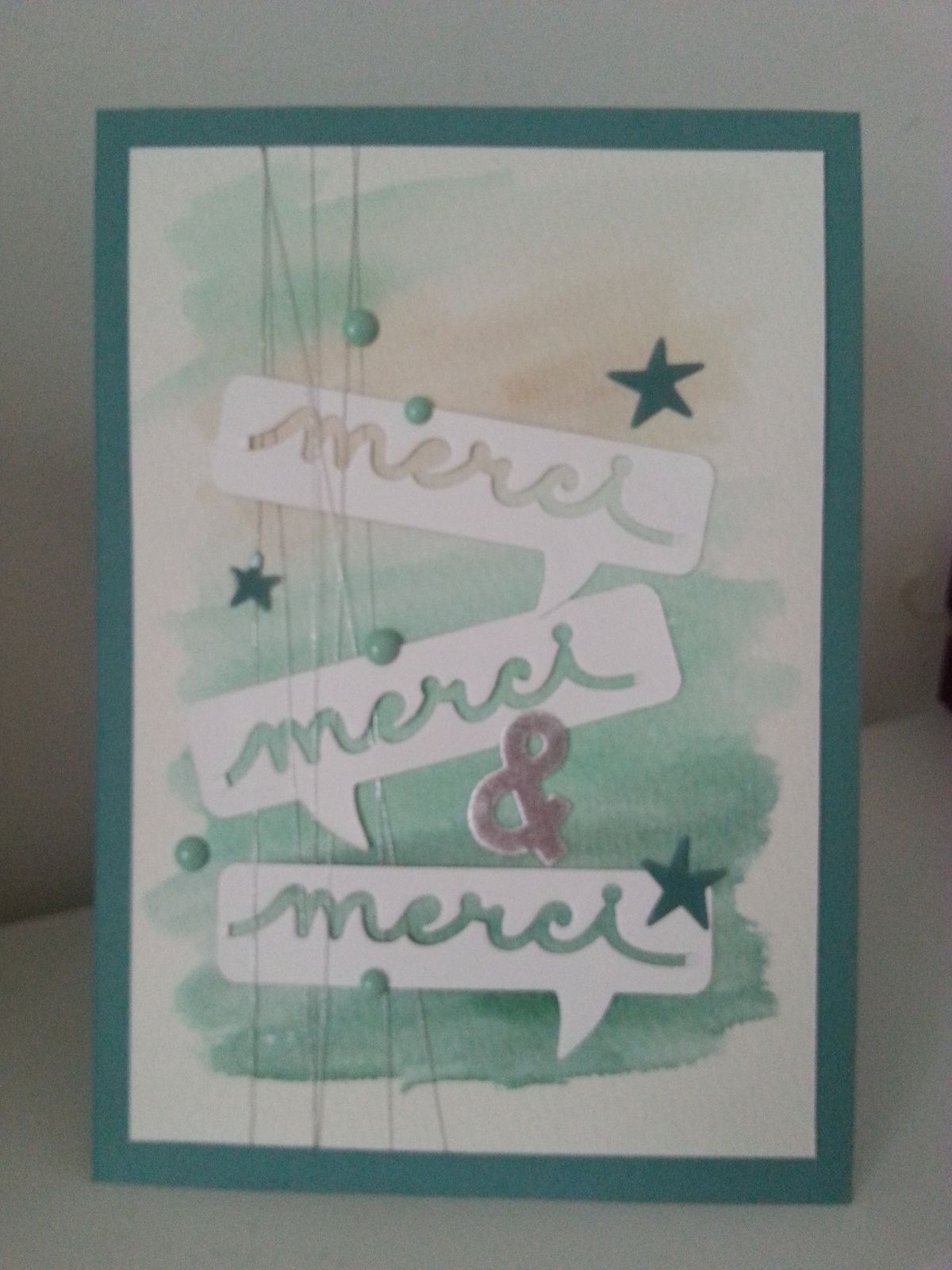 Blog hop des Stampin'Girls! : l'aquarelle