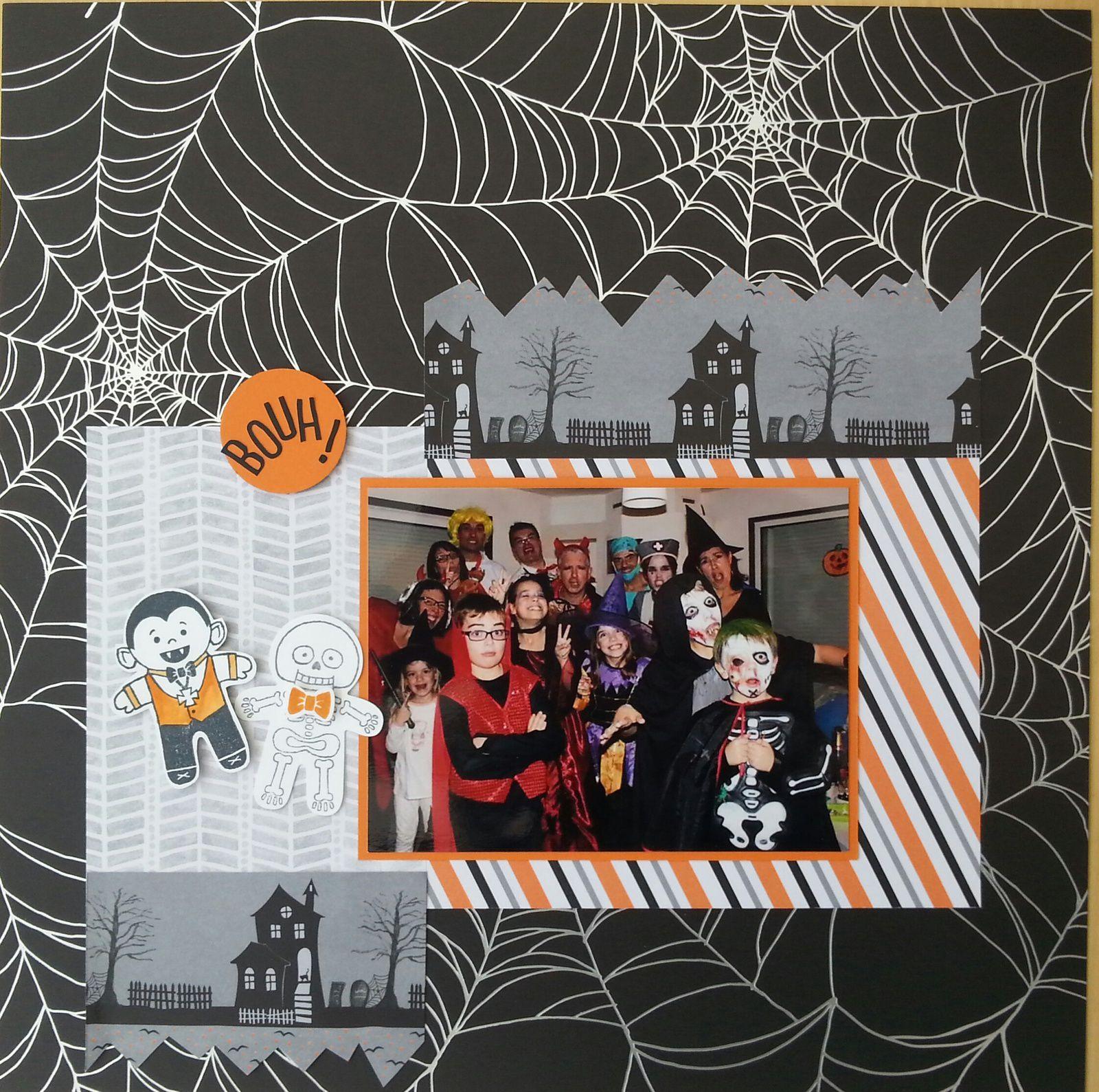 Blog hop des démos : halloween et automne s'annoncent !
