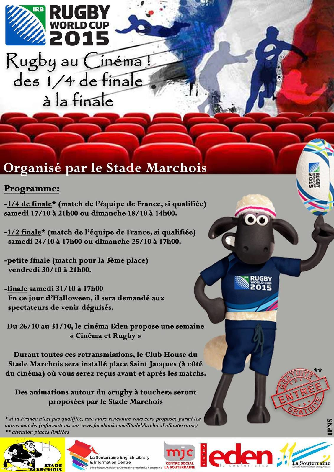 rencontres coupe du monde rugby