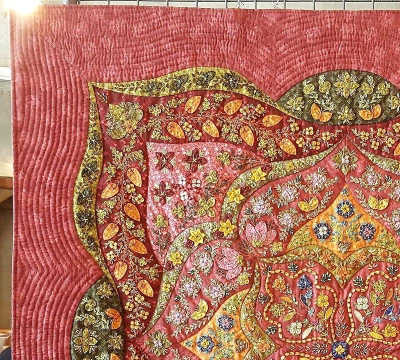 Les magnifiques patchworks de Danielle Fleck