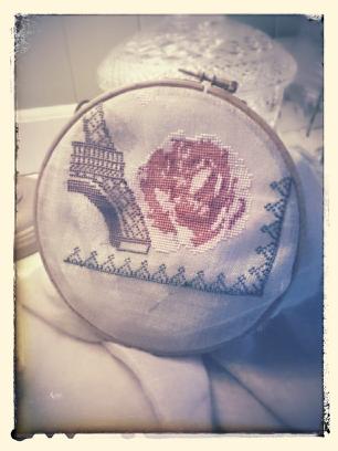 SAL I LOVE PARIS - 2é étape finie !