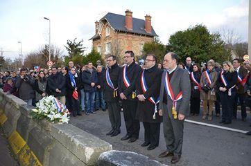 Retour en images sur la marche républicaine et citoyenne organisée à Eaubonne