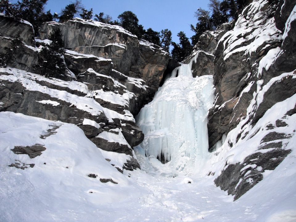 Cascade de Haute-Maurienne